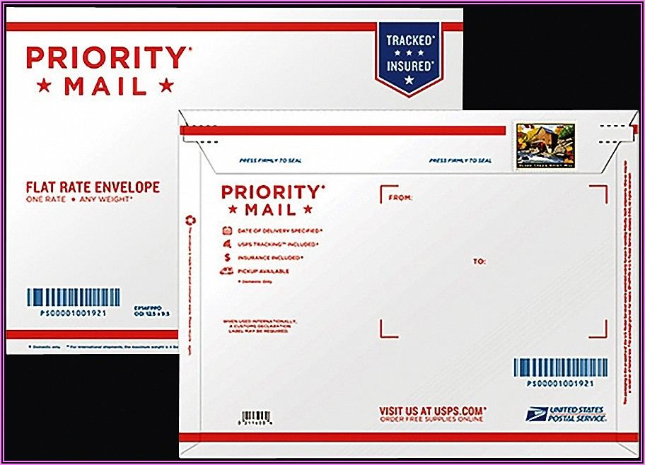Usps Flat Rate Envelope Postage 2020