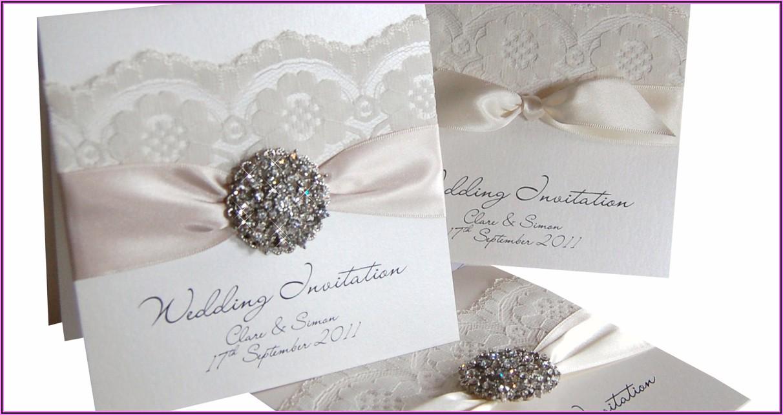 Vintage Lace Wedding Invitations Uk