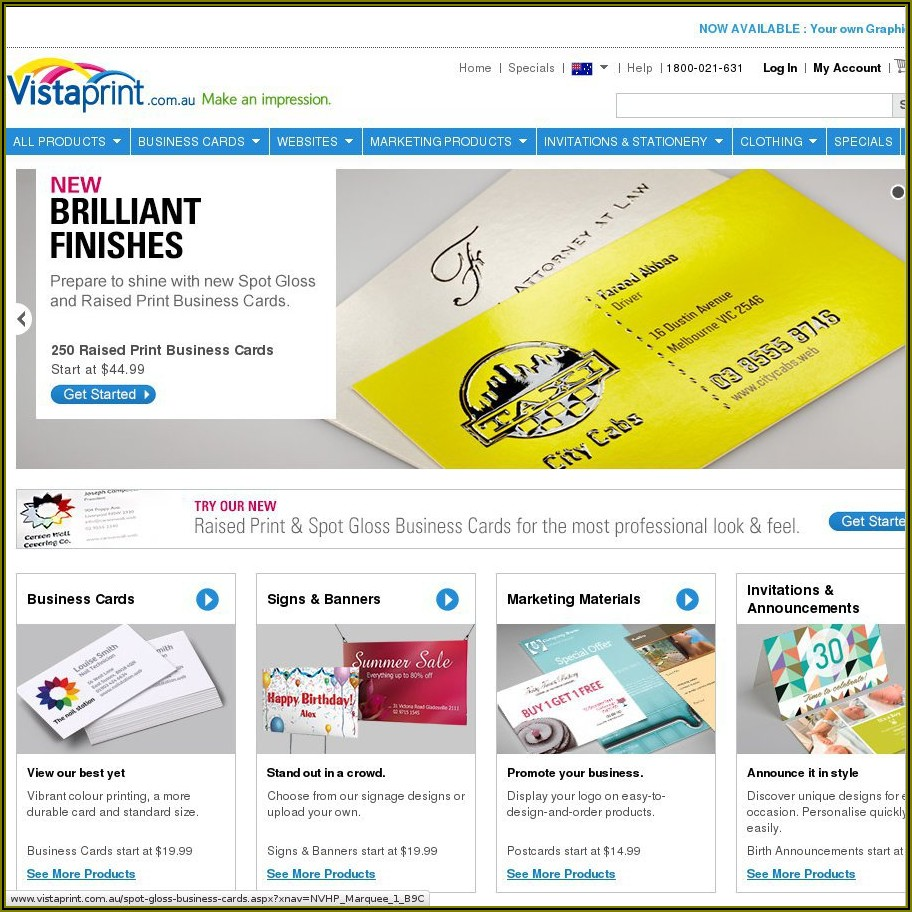 Vistaprint 250 Free Business Cards Free Shipping