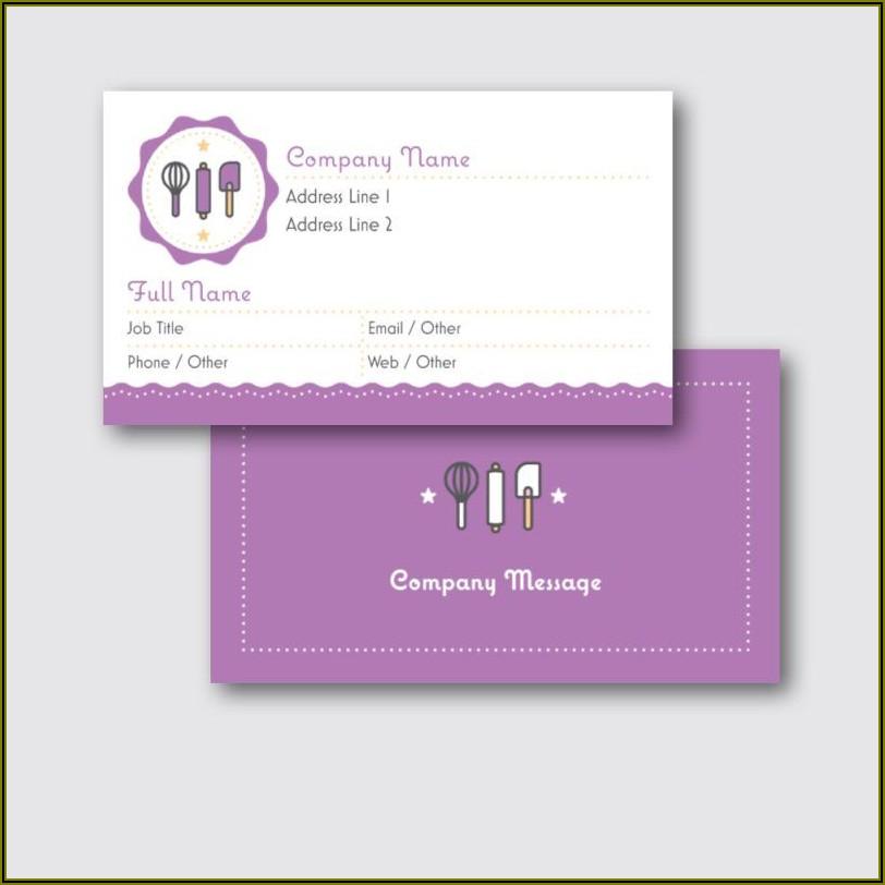 Vistaprint Business Card Size Chart