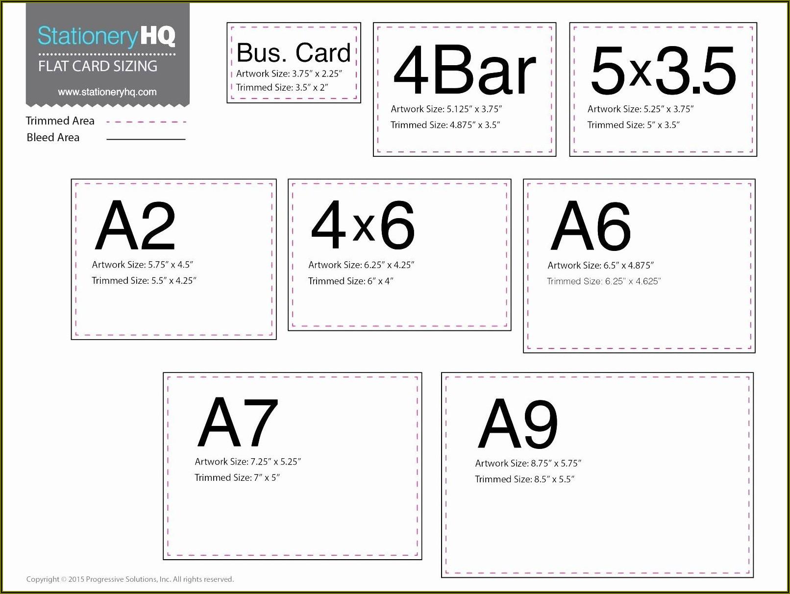 Vistaprint Business Card Size In Pixels