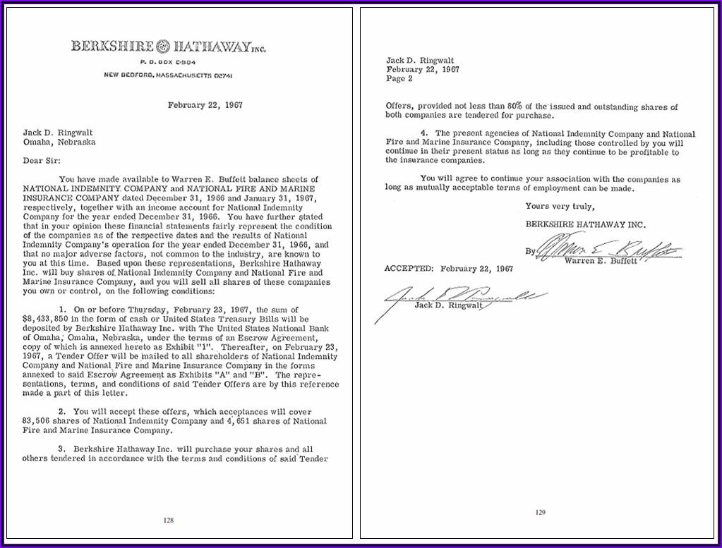 Warren Buffett Annual Letter 2020 Pdf