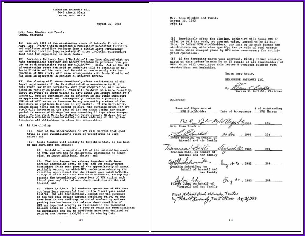 Warren Buffett Annual Letter Pdf