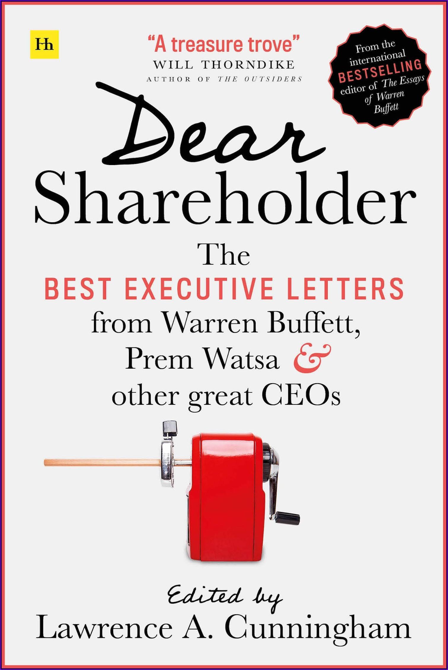 Warren Buffett Annual Letters Book Pdf