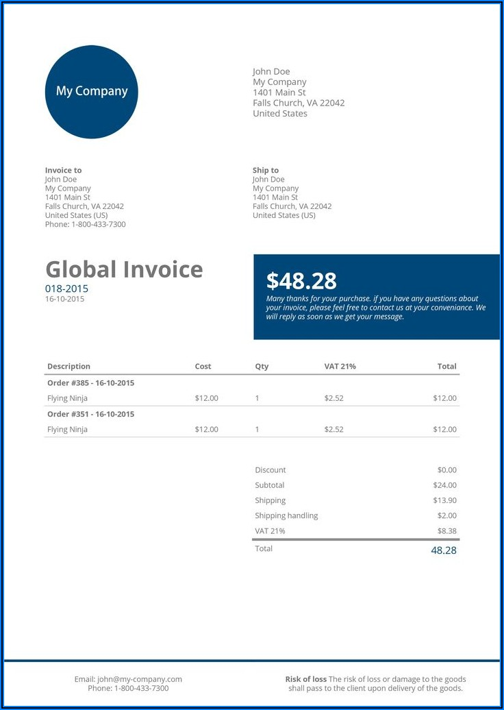 Woocommerce Pdf Invoices & Packing Slips Professional Download Free