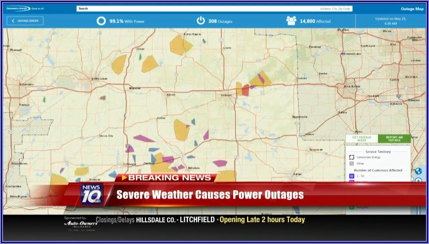 Xcel Energy Outage Map Aurora Co