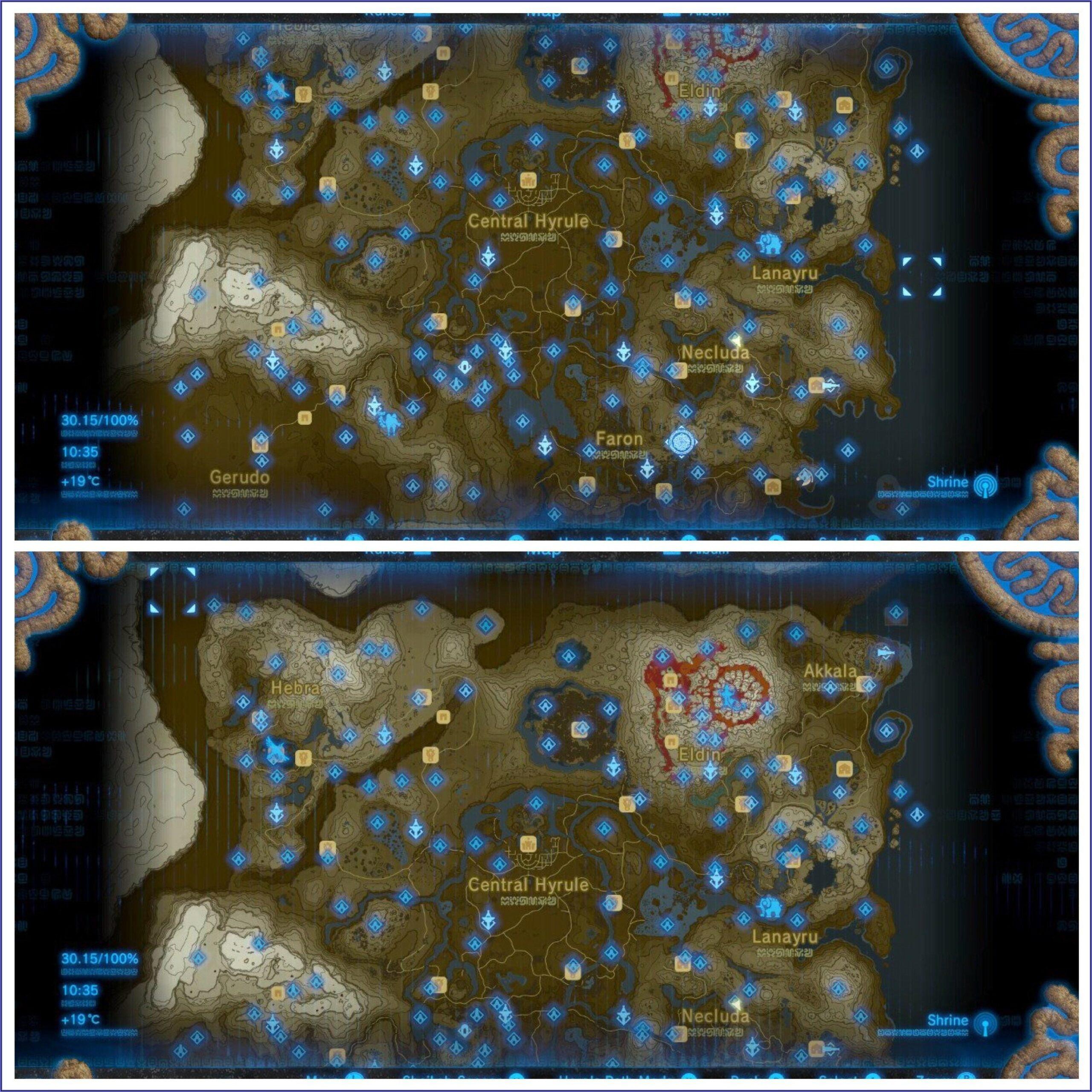 Zelda Botw Shrine Map App