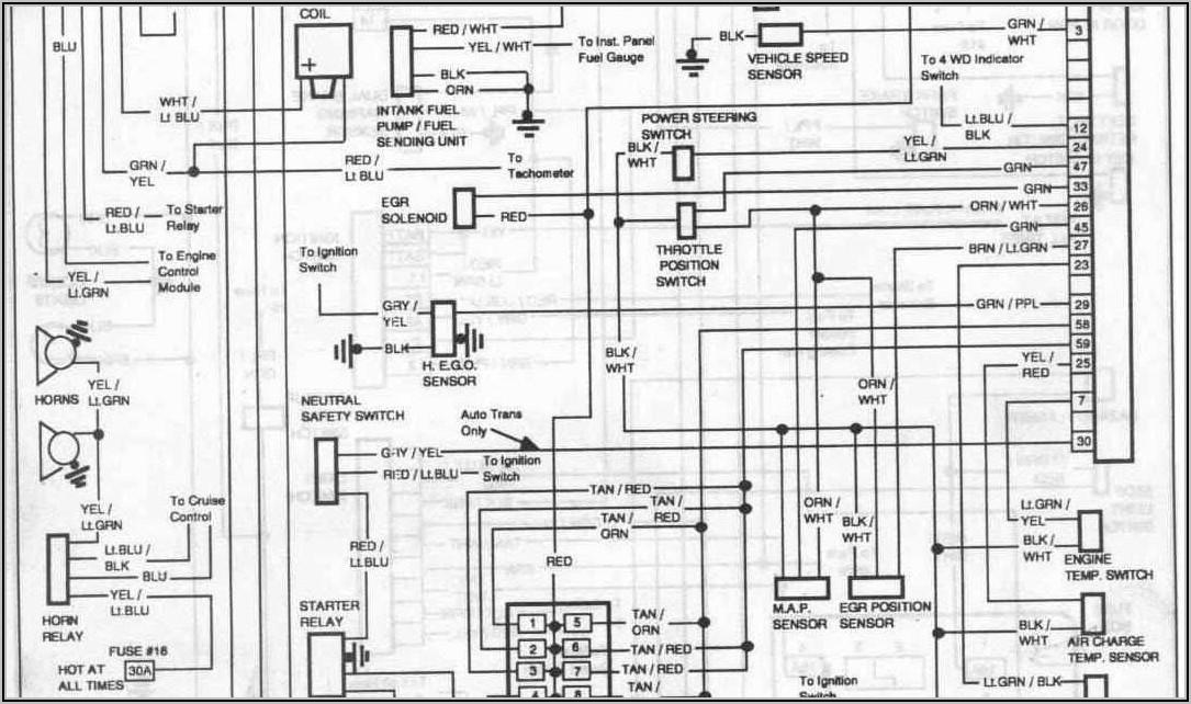2000 Ford F150 Alternator Wiring Diagram