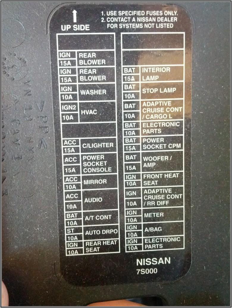 2008 Ford Super Duty Fuse Box Diagram
