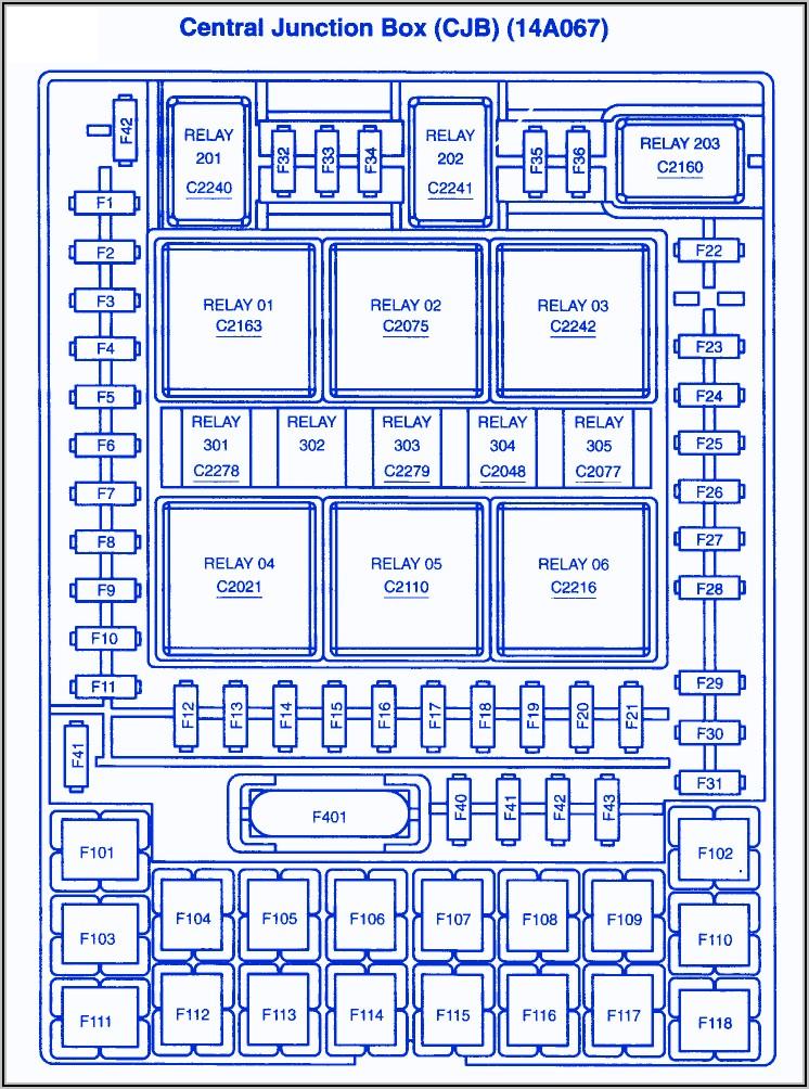 2010 Ford F150 Xlt Fuse Box Diagram
