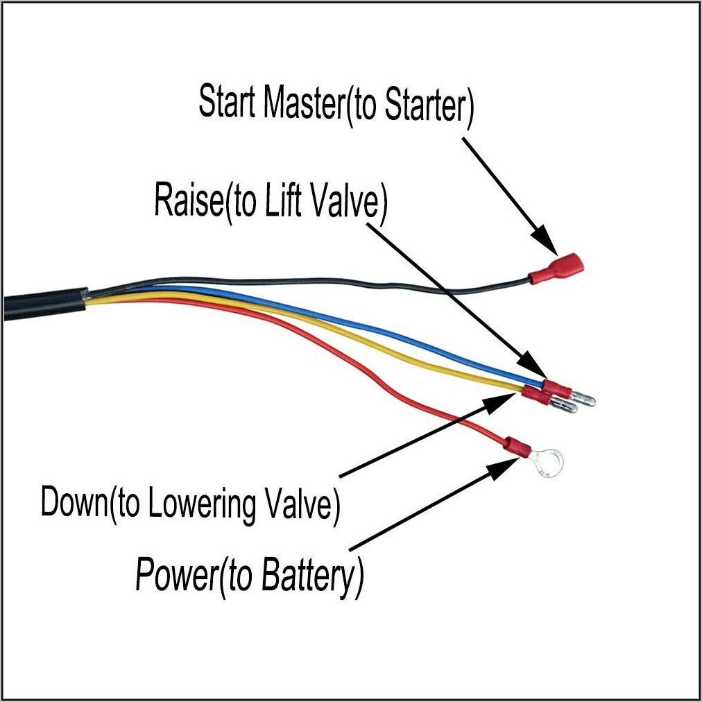 4 Wire Dump Trailer Remote Control Switch Wiring Diagram