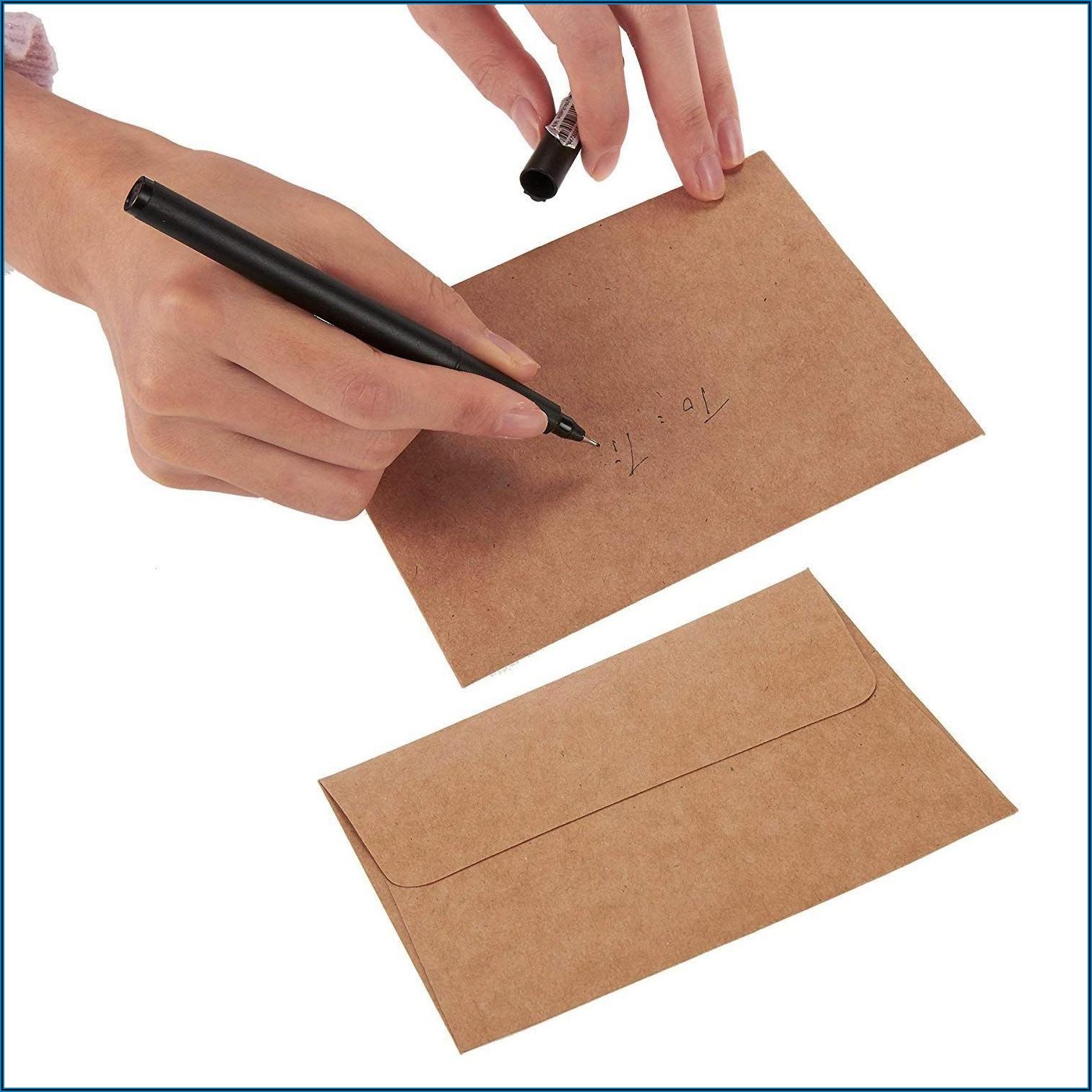 4 X 5 Inch Envelopes