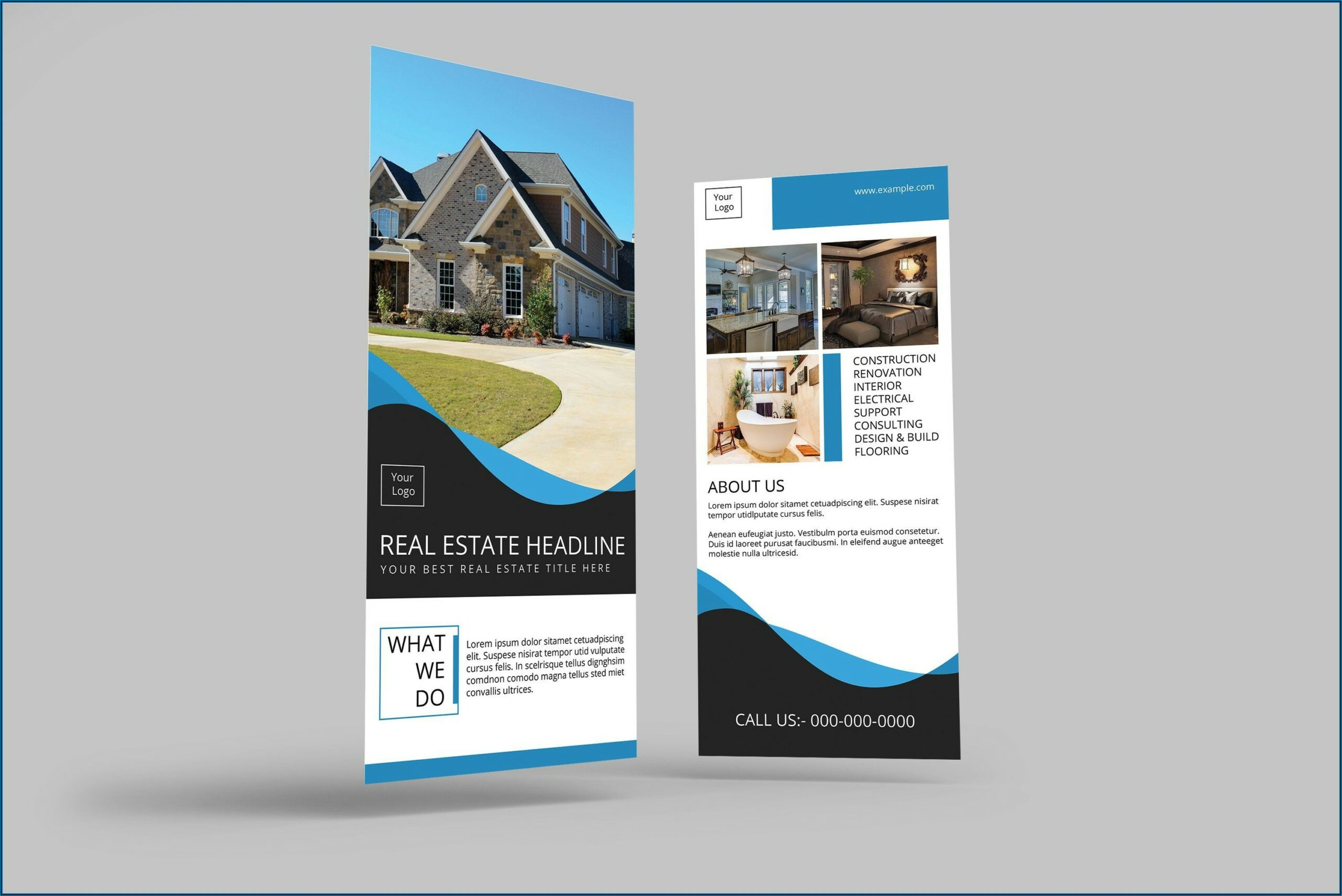 4x9 Tri Fold Brochure Template