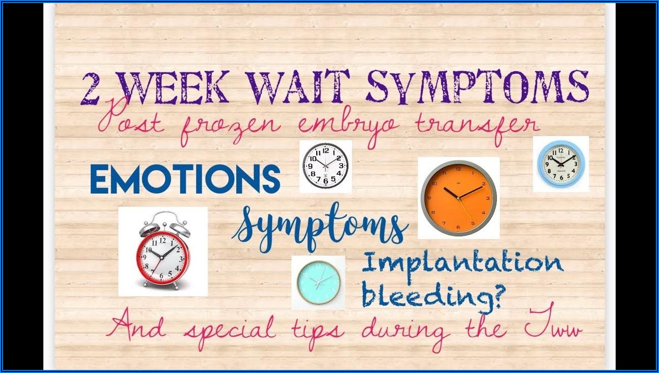 5 Day Embryo Transfer Implantation Symptoms