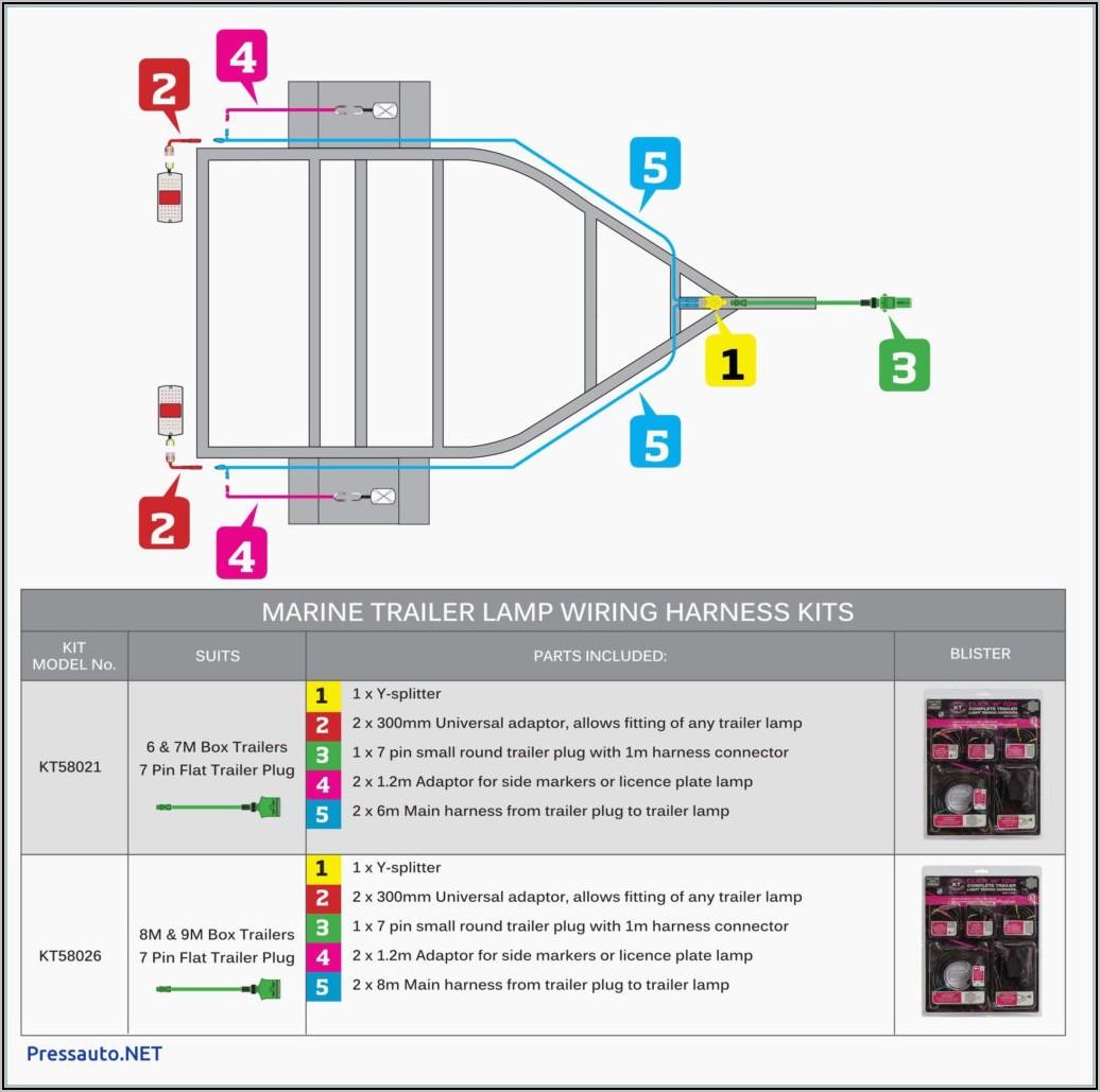 5 Way Trailer Wiring Diagram
