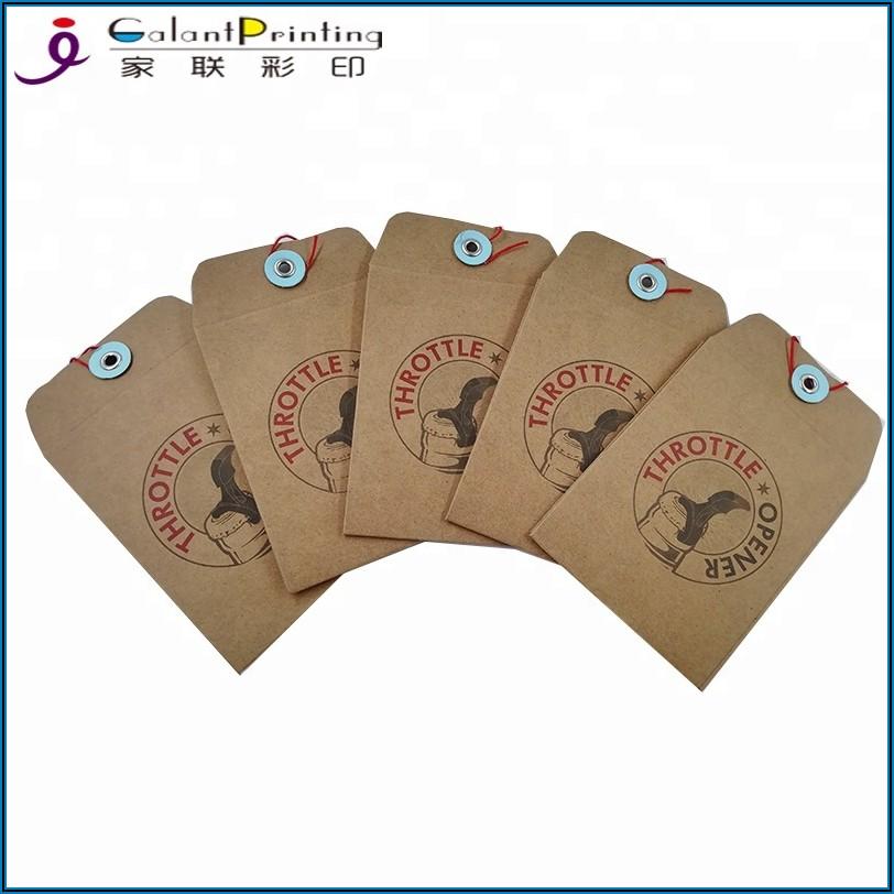 A7 Button And String Envelopes
