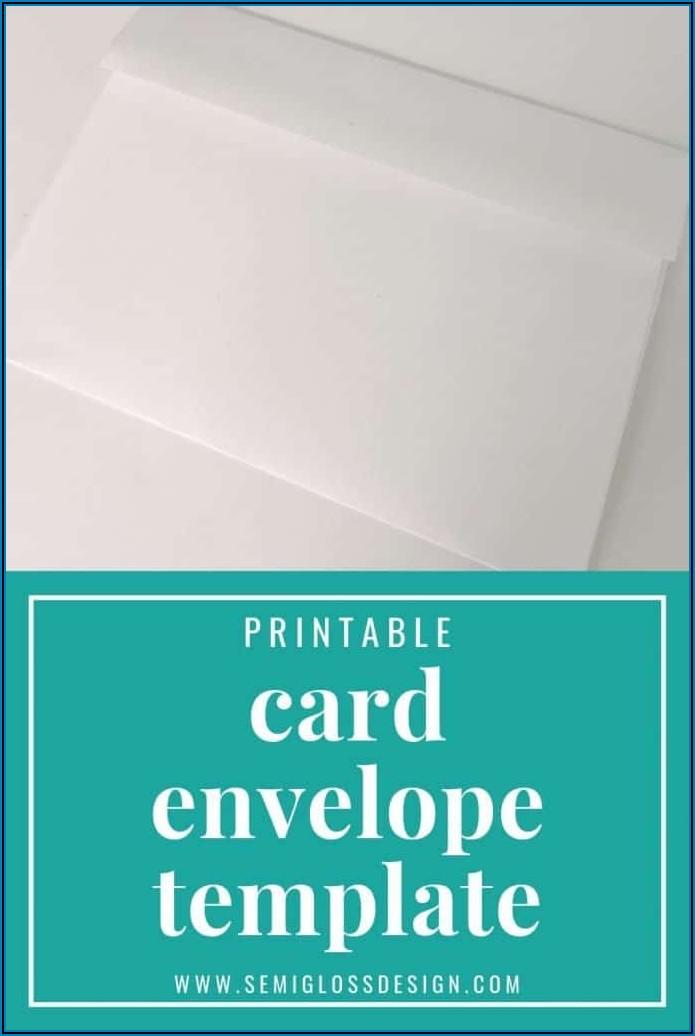 A7 Wedding Envelope Template Word