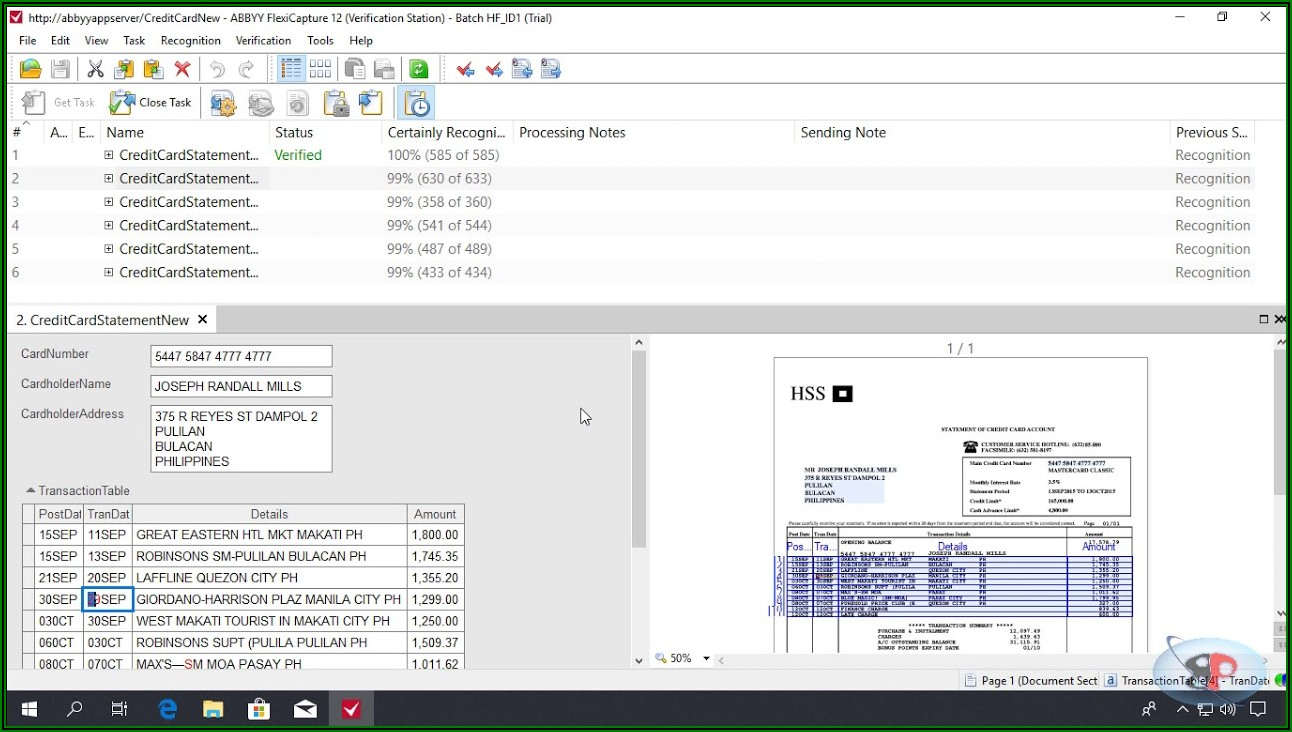 Abbyy Flexicapture For Invoices Tutorial