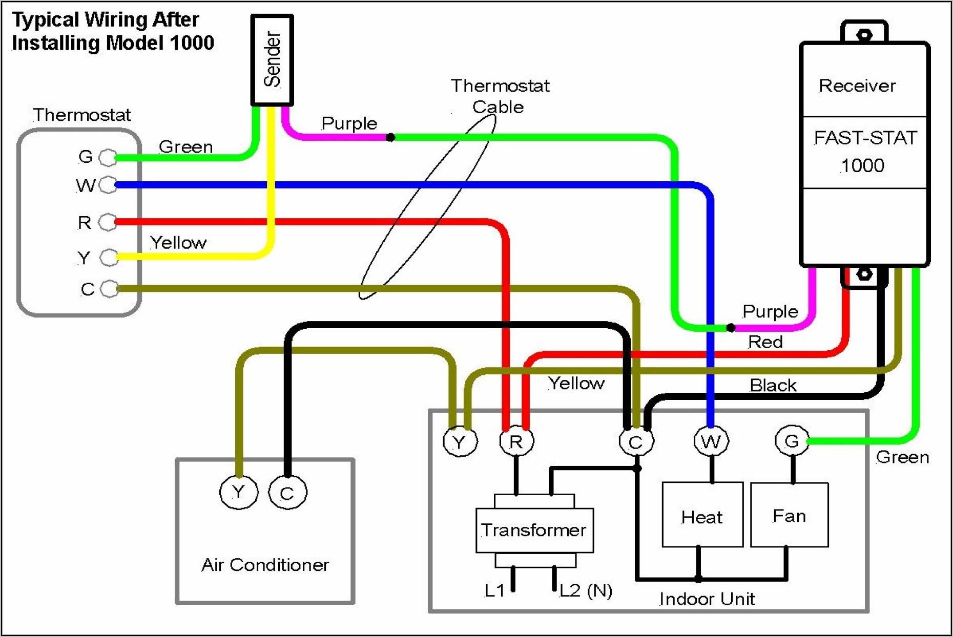 Ac Wiring Diagram Thermostat