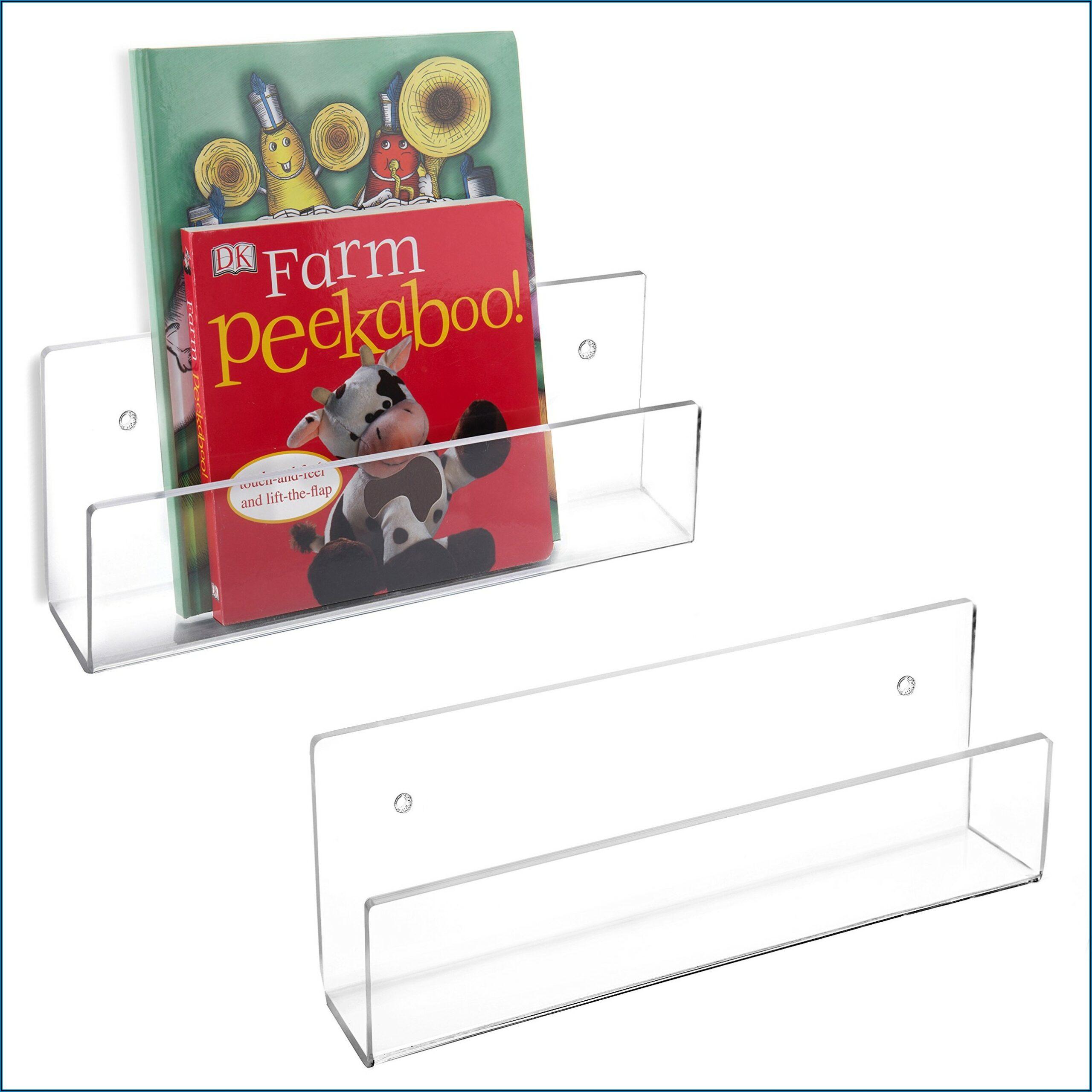 Acrylic Wall Mounted Brochure Display