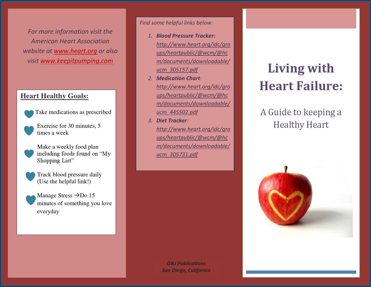 American Heart Association Brochures Pdf