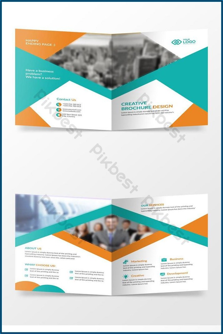 Bi Fold Brochure Design Free Download
