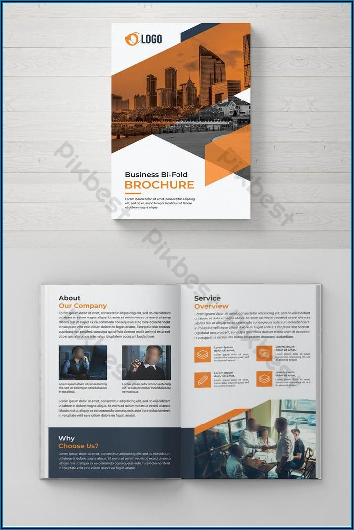 Bi Fold Brochure Template Free