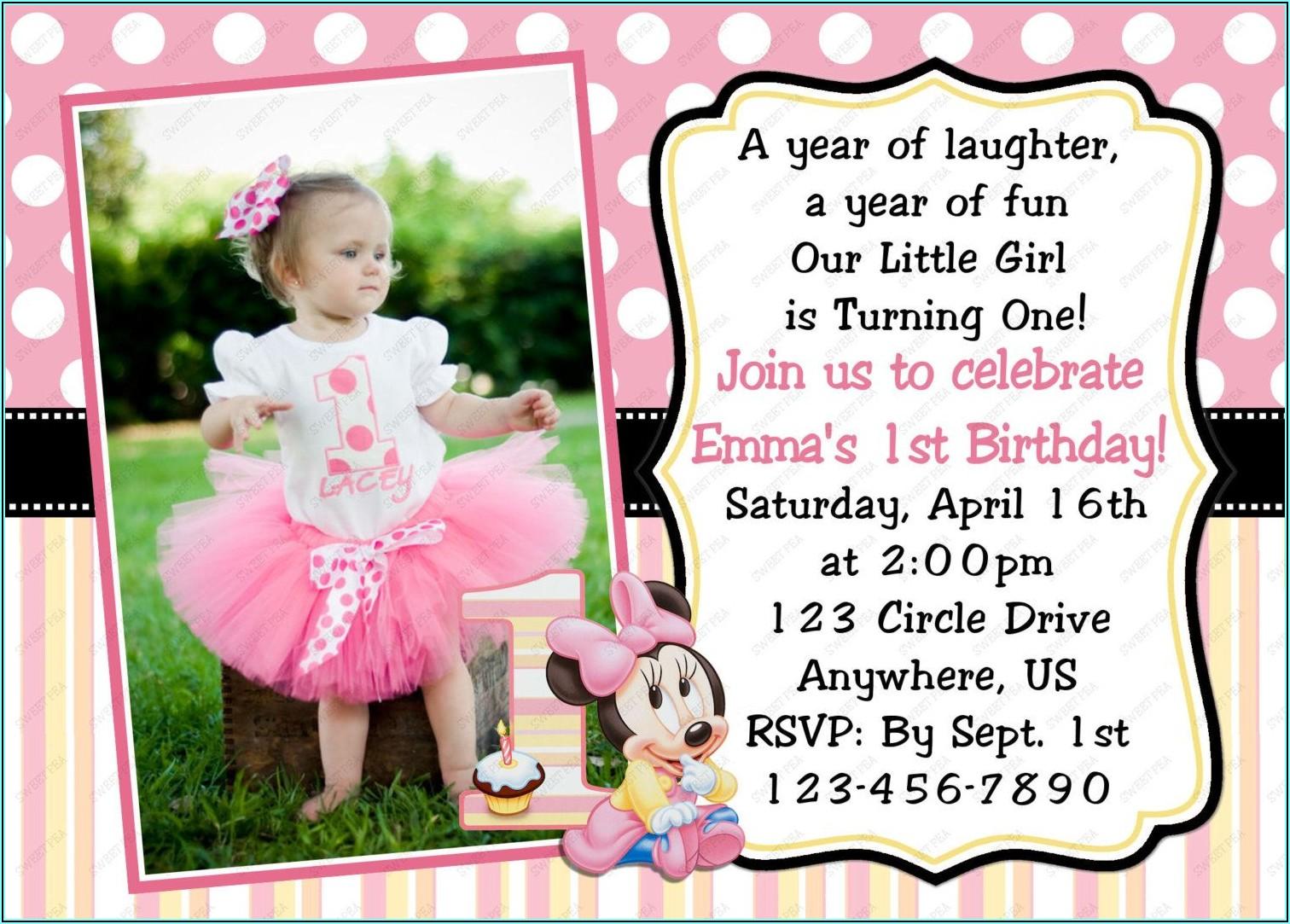 Birthday Invitation Card For Girl Online