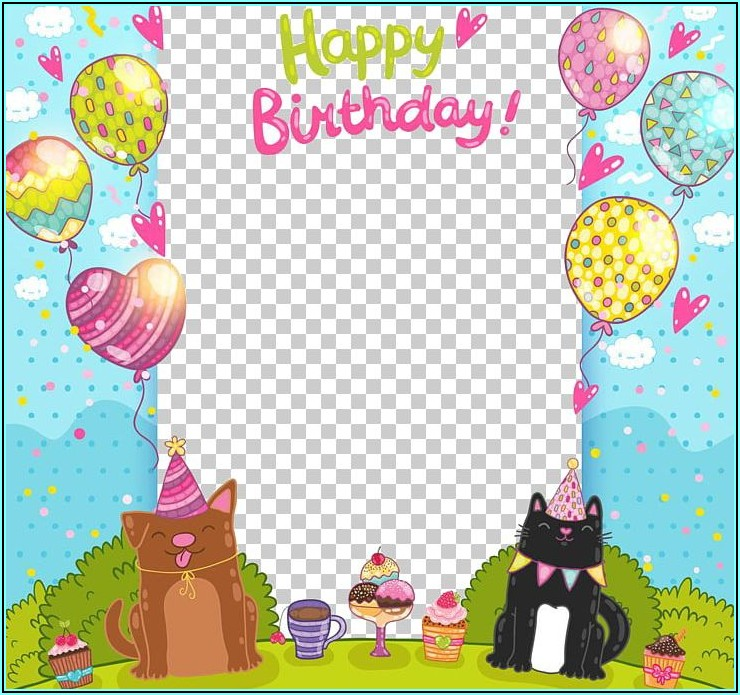 Birthday Invitation Card Png Images