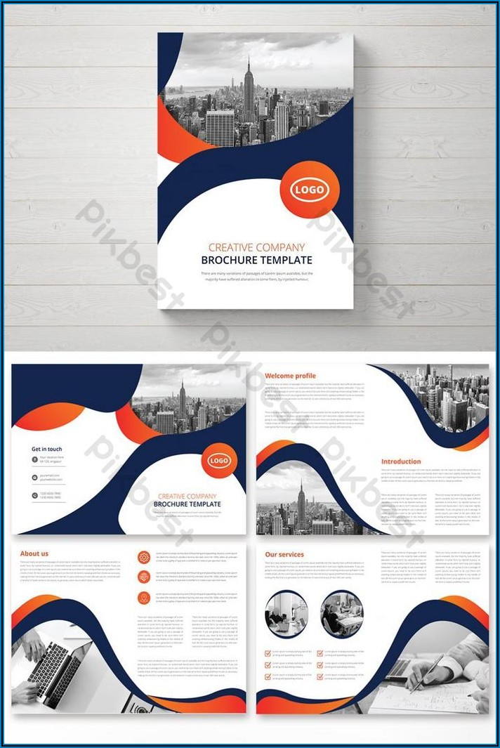 Booklet Template Ai Free Download