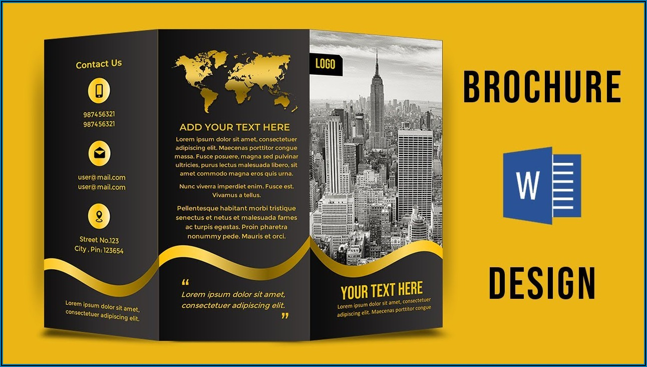 Booklet Template Ai Free