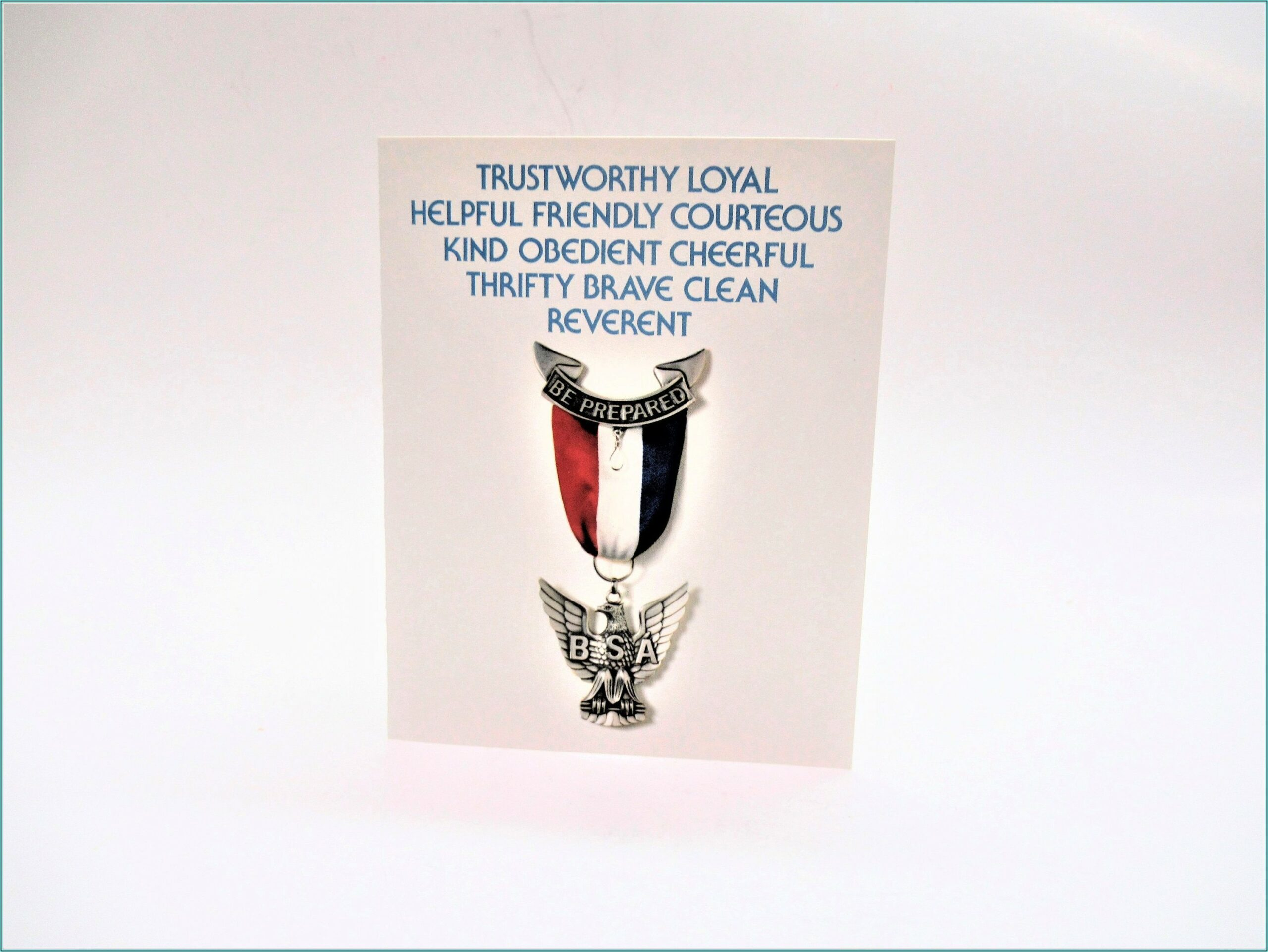Boy Scout Eagle Ceremony Invitations