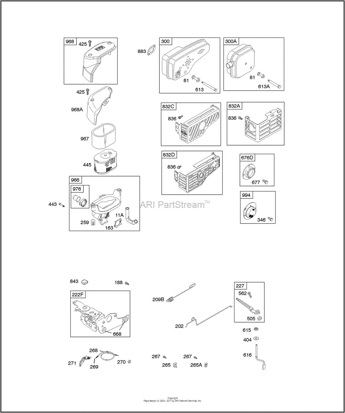 Briggs And Stratton Governor Spring Diagram
