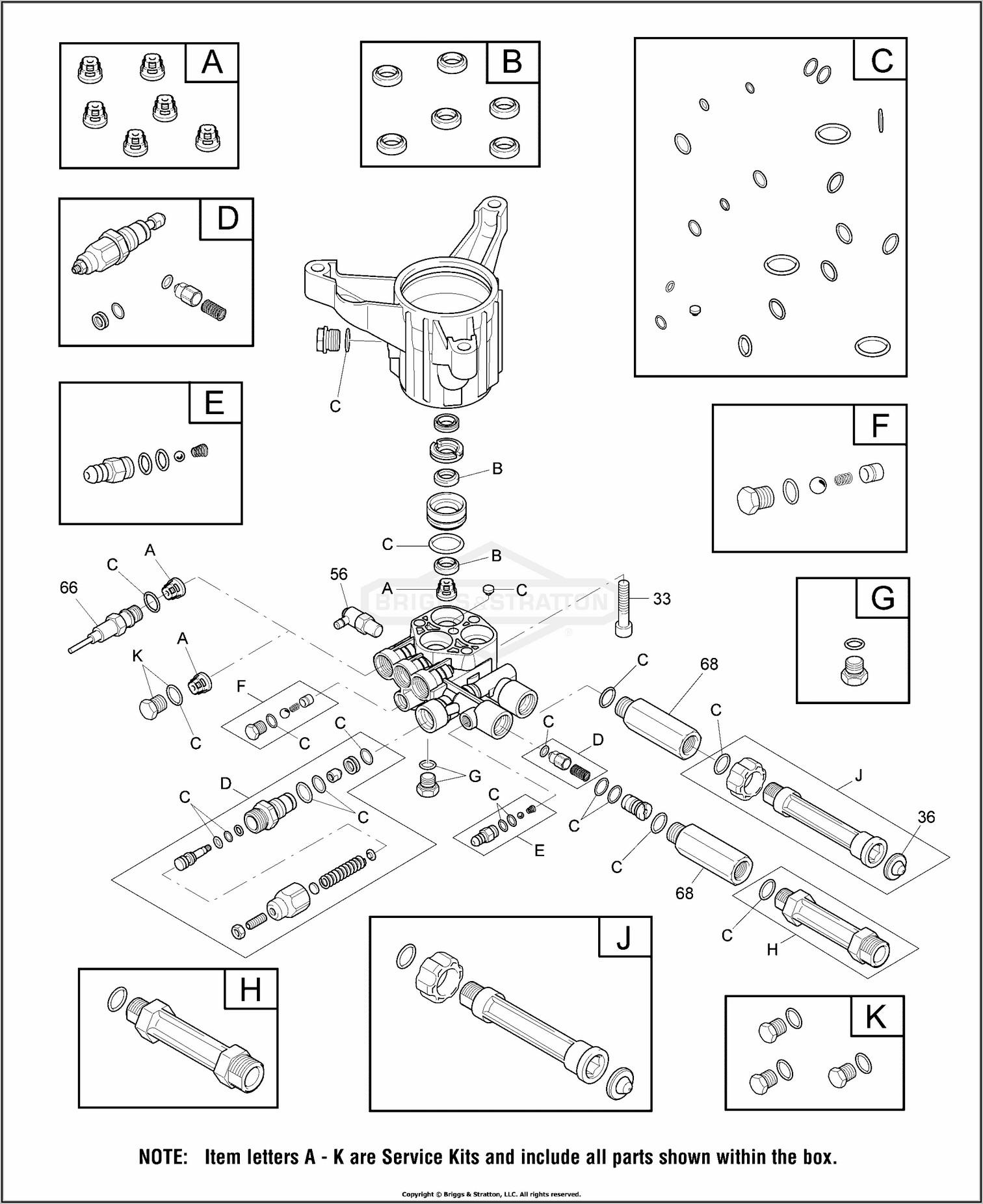 Briggs And Stratton Throttle Spring Diagram
