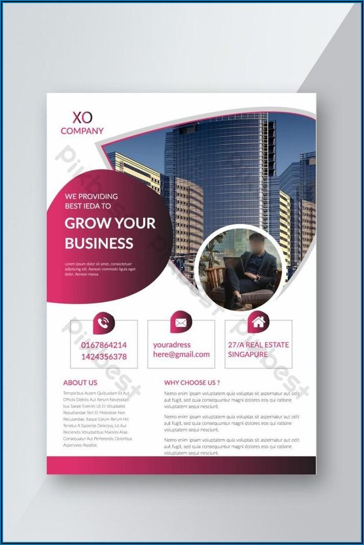 Brochure Ai Template Download