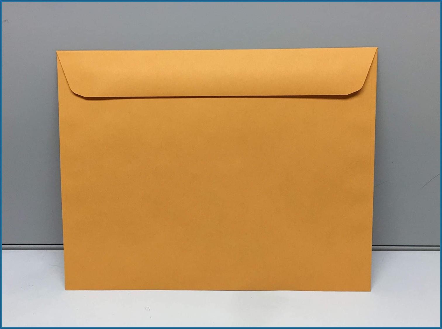 Brown Kraft Envelopes 10 X 13
