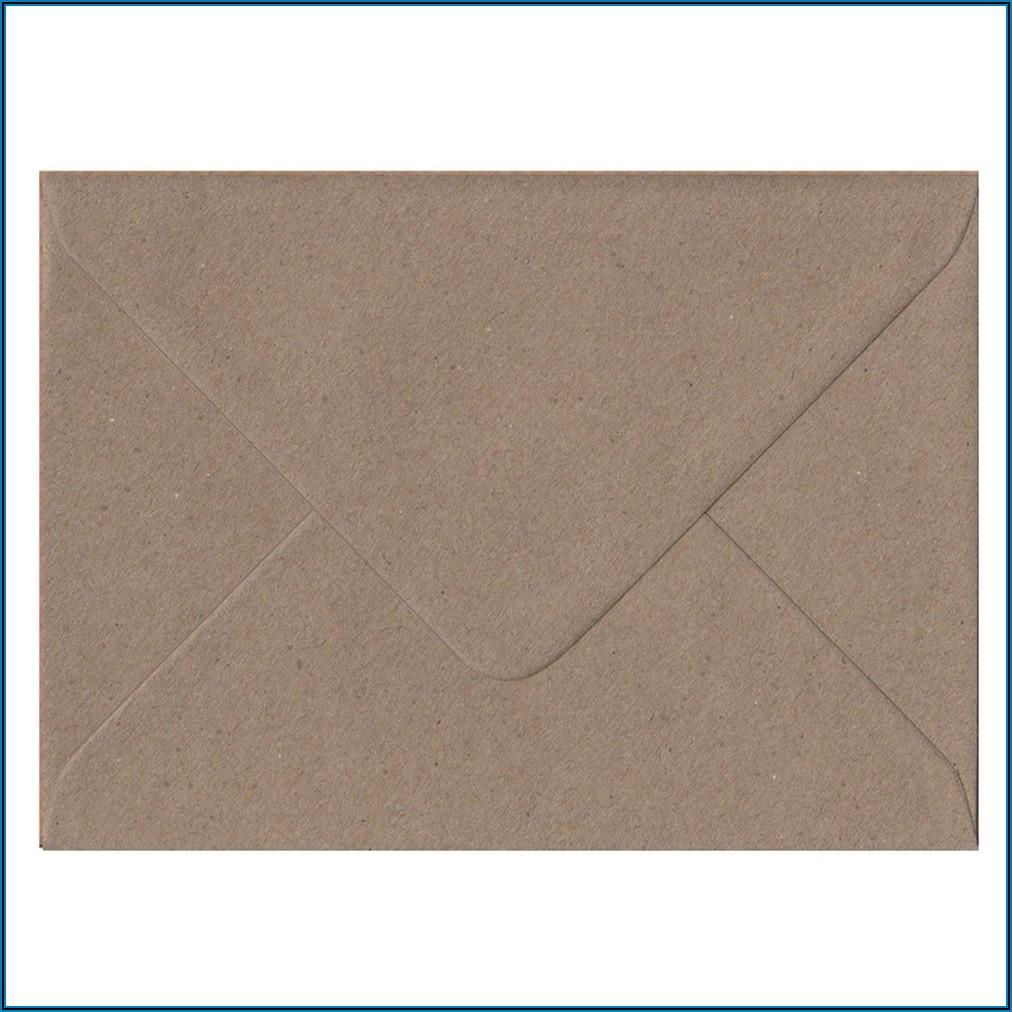 C6 Brown Kraft Envelopes