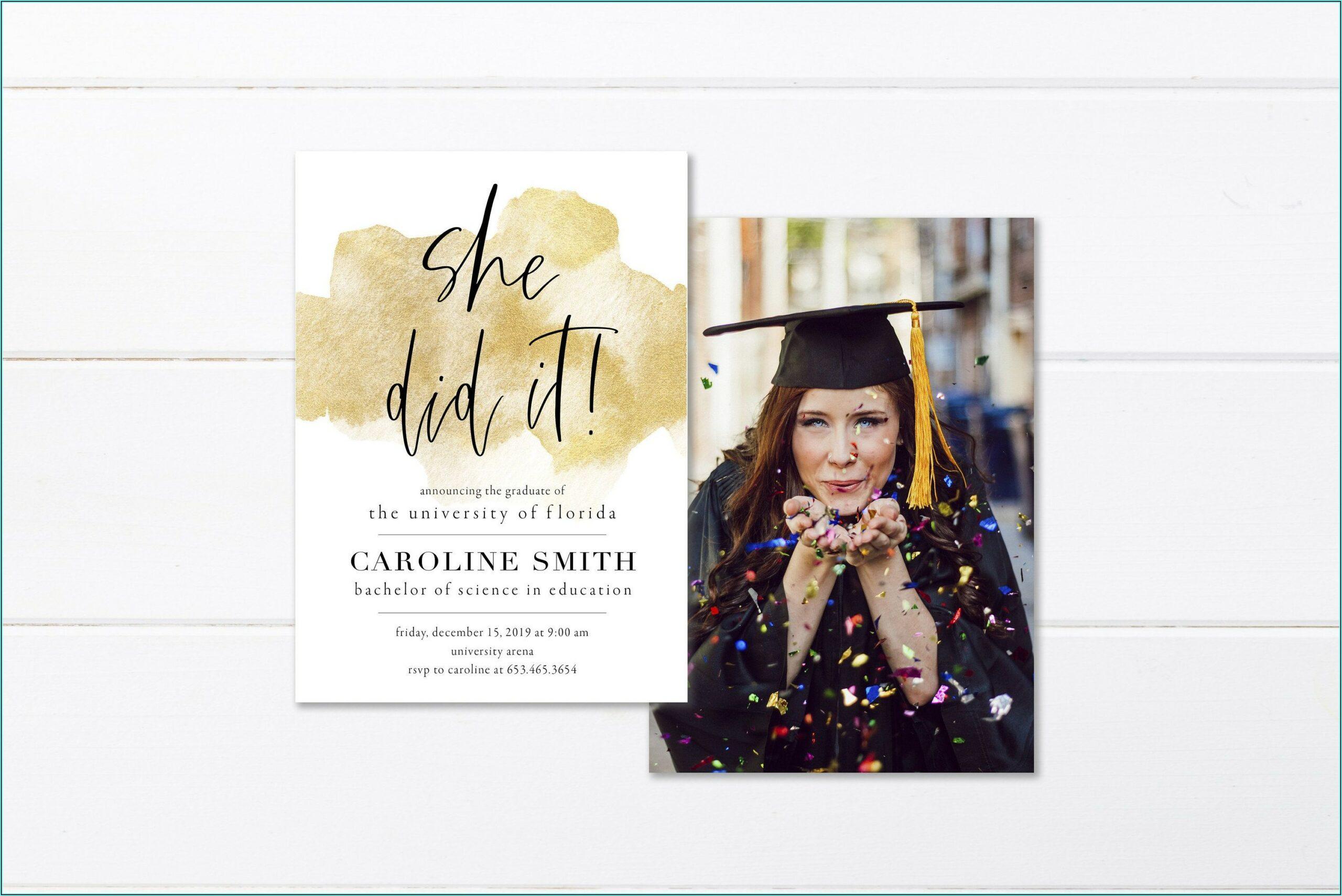 Cheap Graduation Invitations 2019