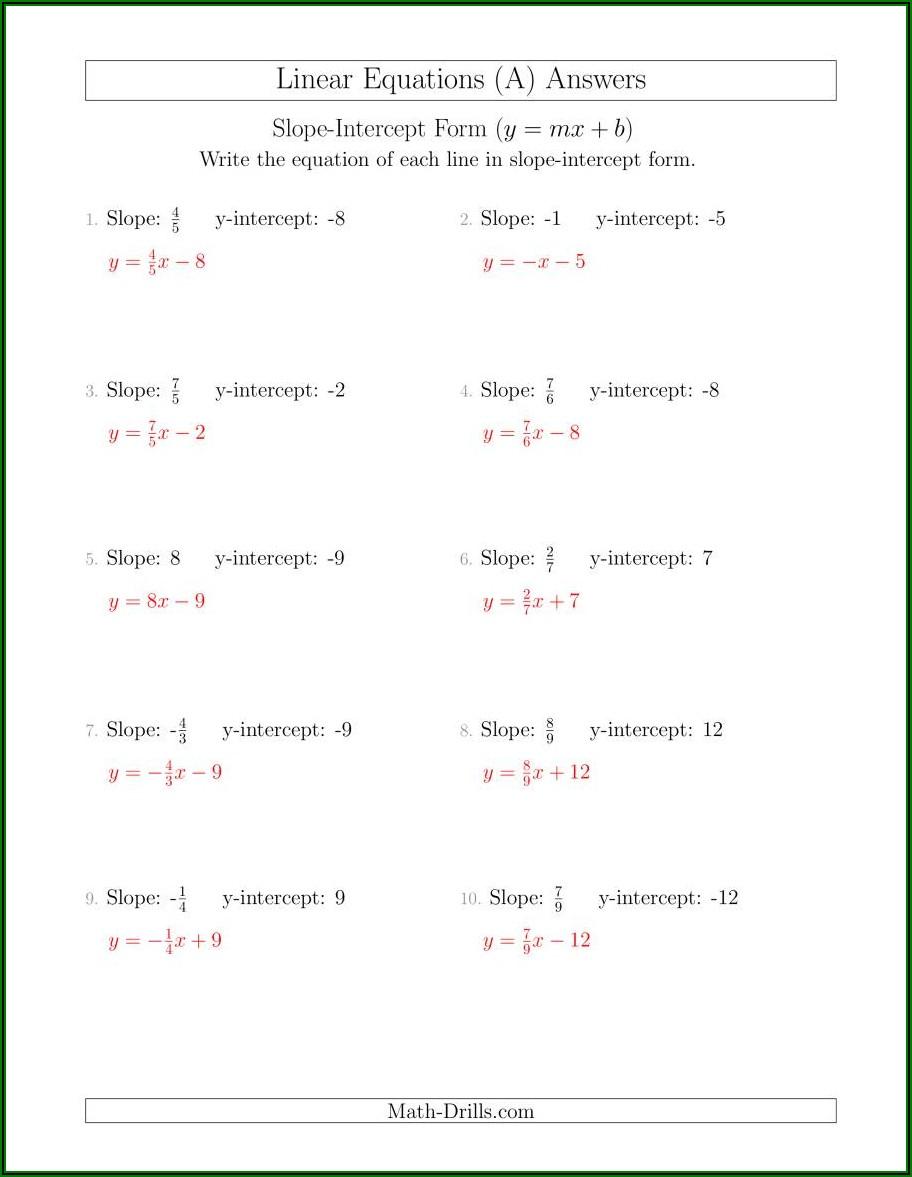 Christmas Math Crossword Puzzles