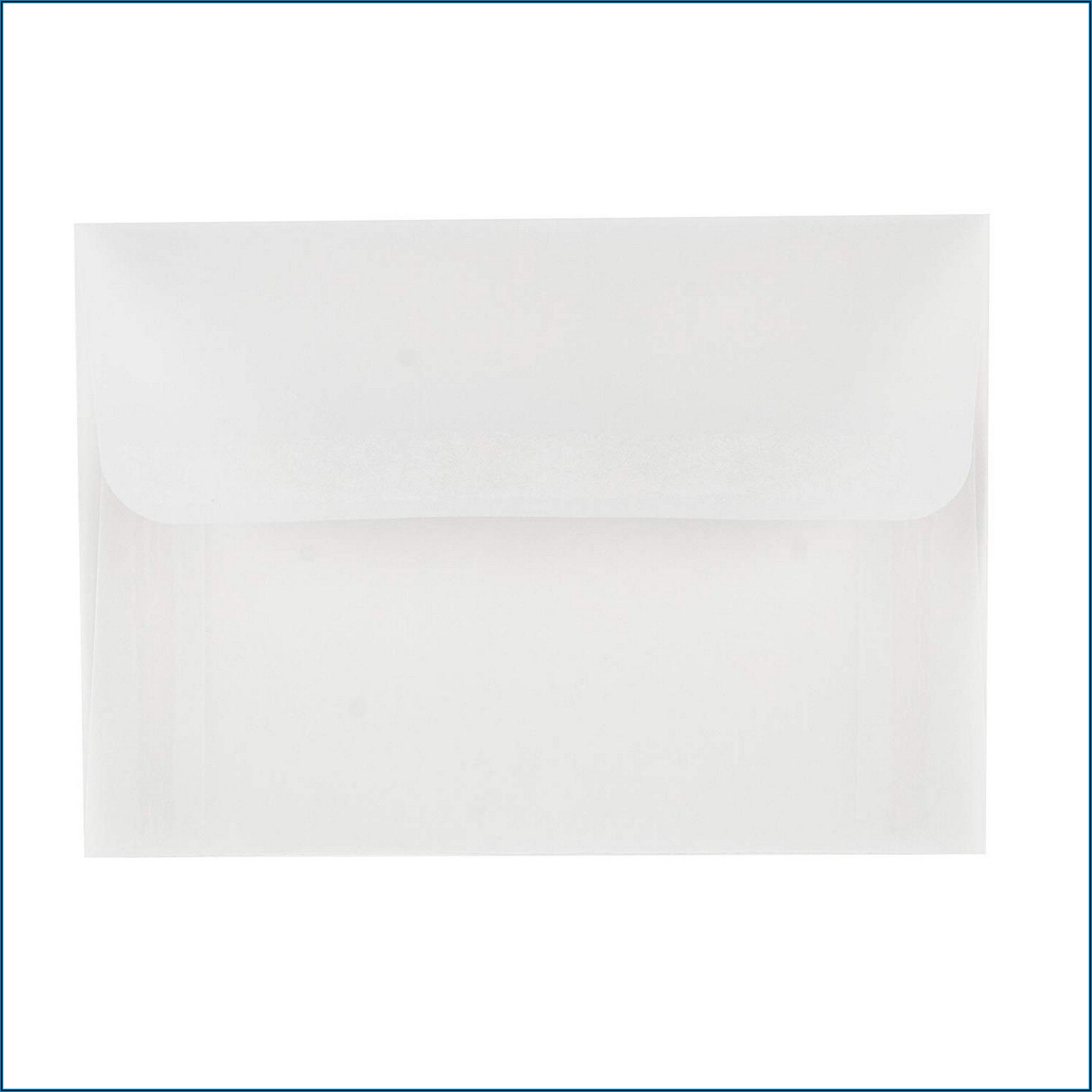 Clear Envelopes For Invitations Walmart