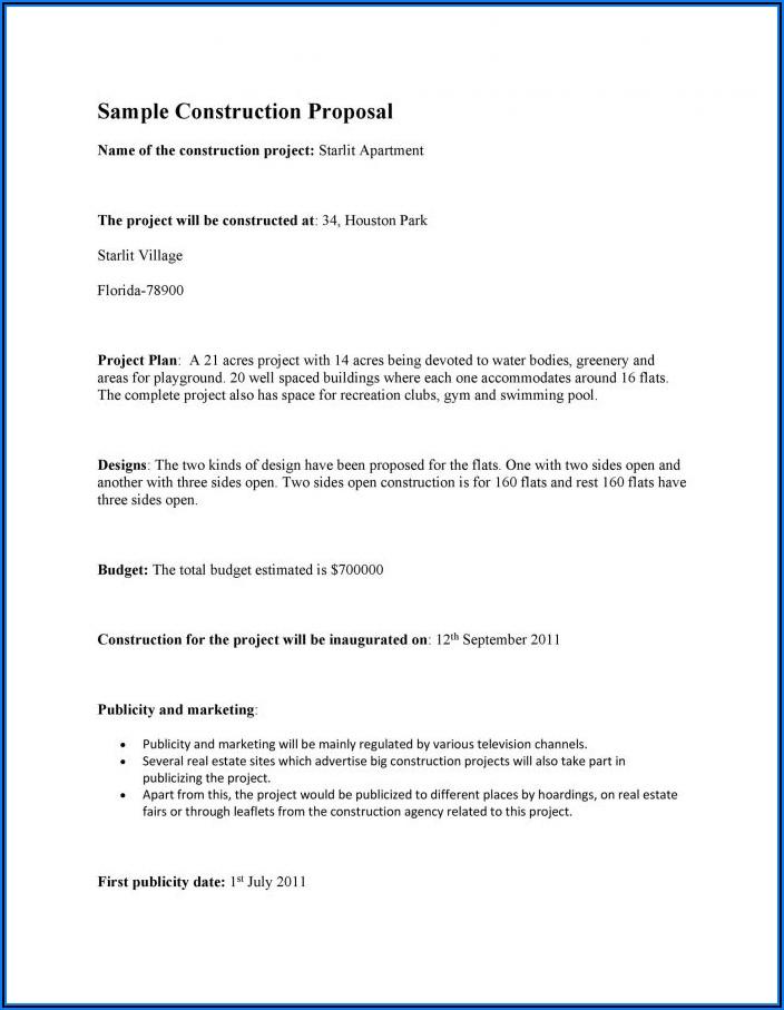 Construction Project Communication Plan Template