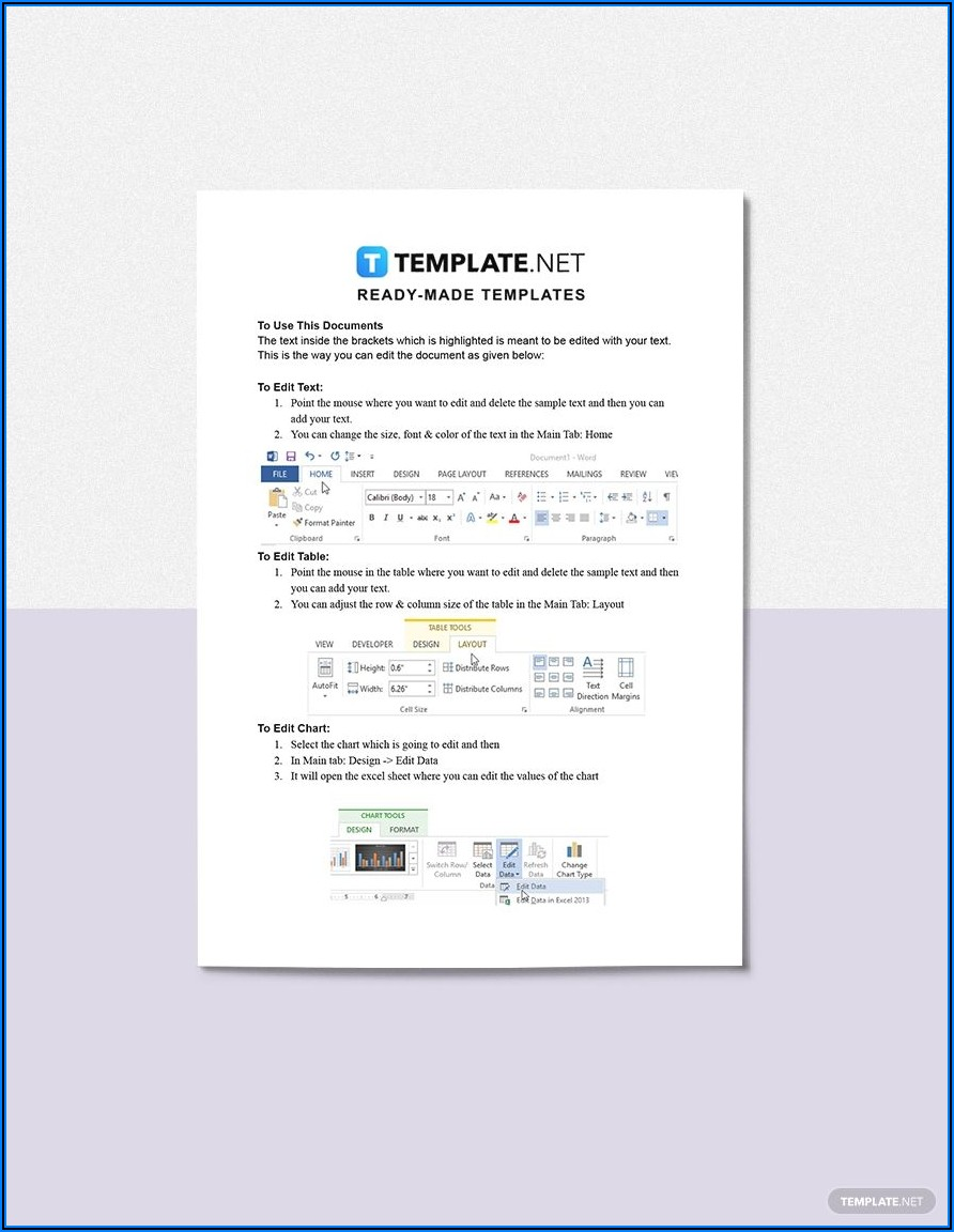 Construction Project Management Plan Template Word
