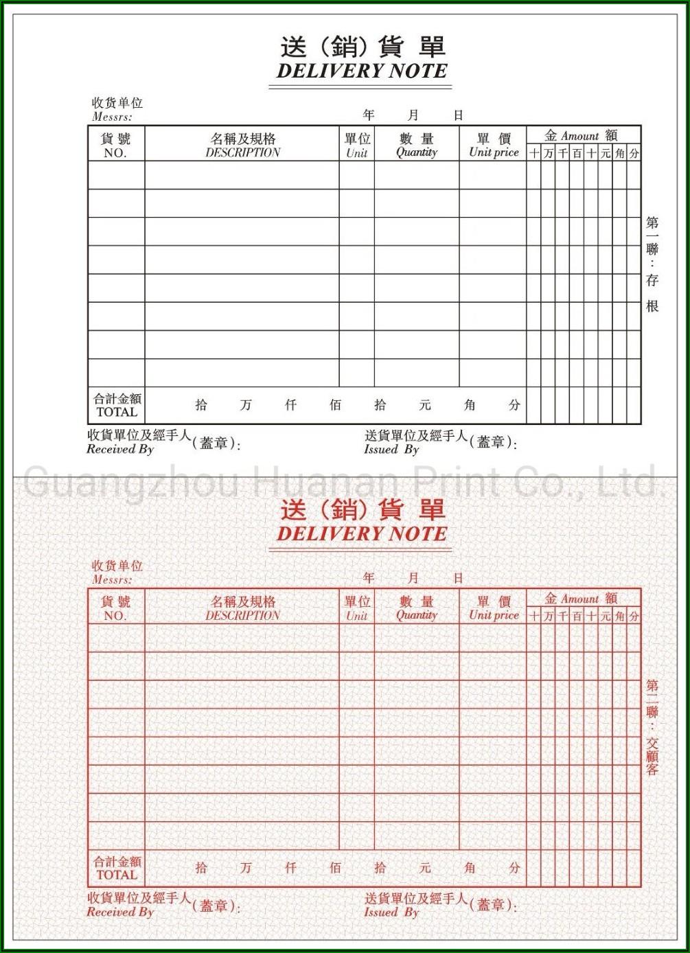 Custom Carbonless Copy Invoice Book