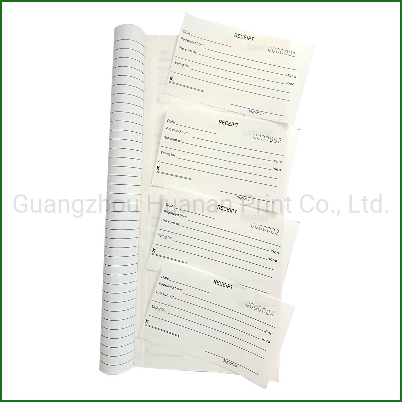 Custom Printed Carbonless Receipt Books