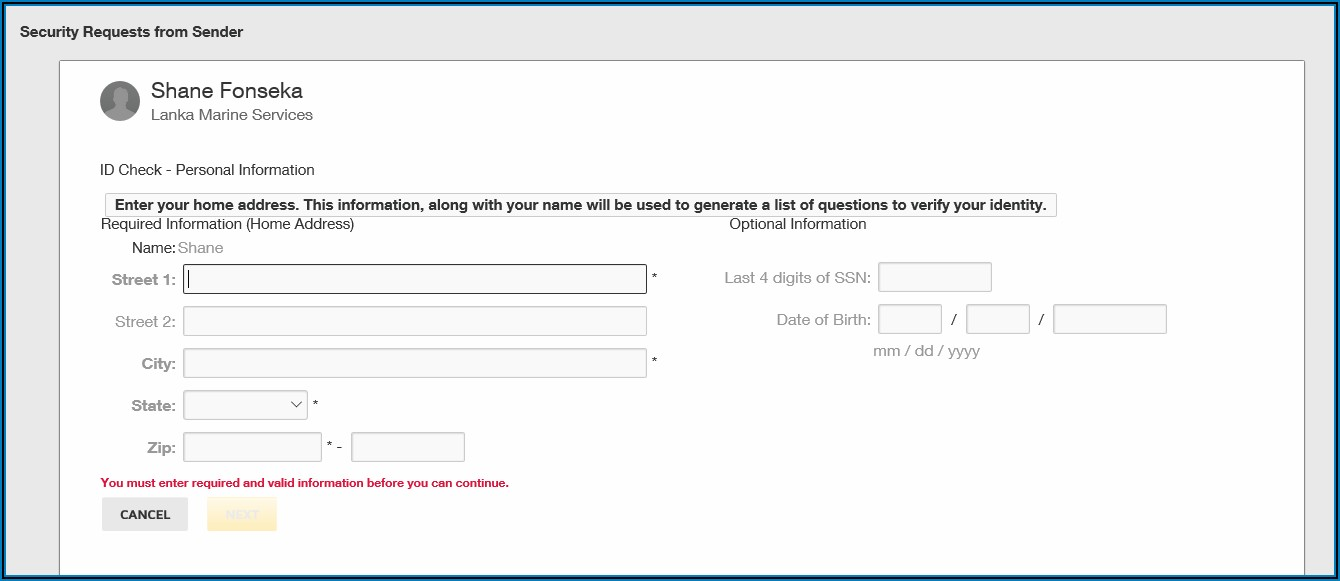 Docusign Envelope Id Verification