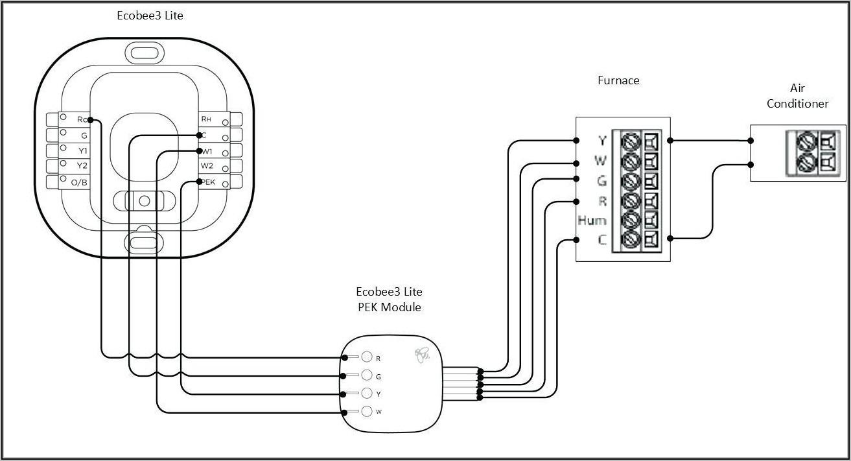 Ecobee 4 Thermostat Wiring Diagram