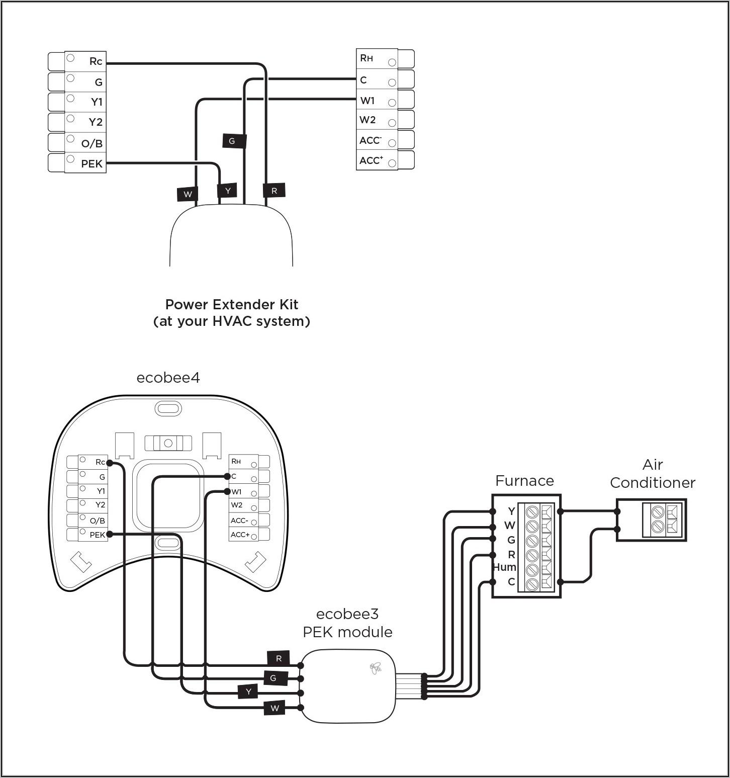 Ecobee 4 Wiring Diagram Heat Pump