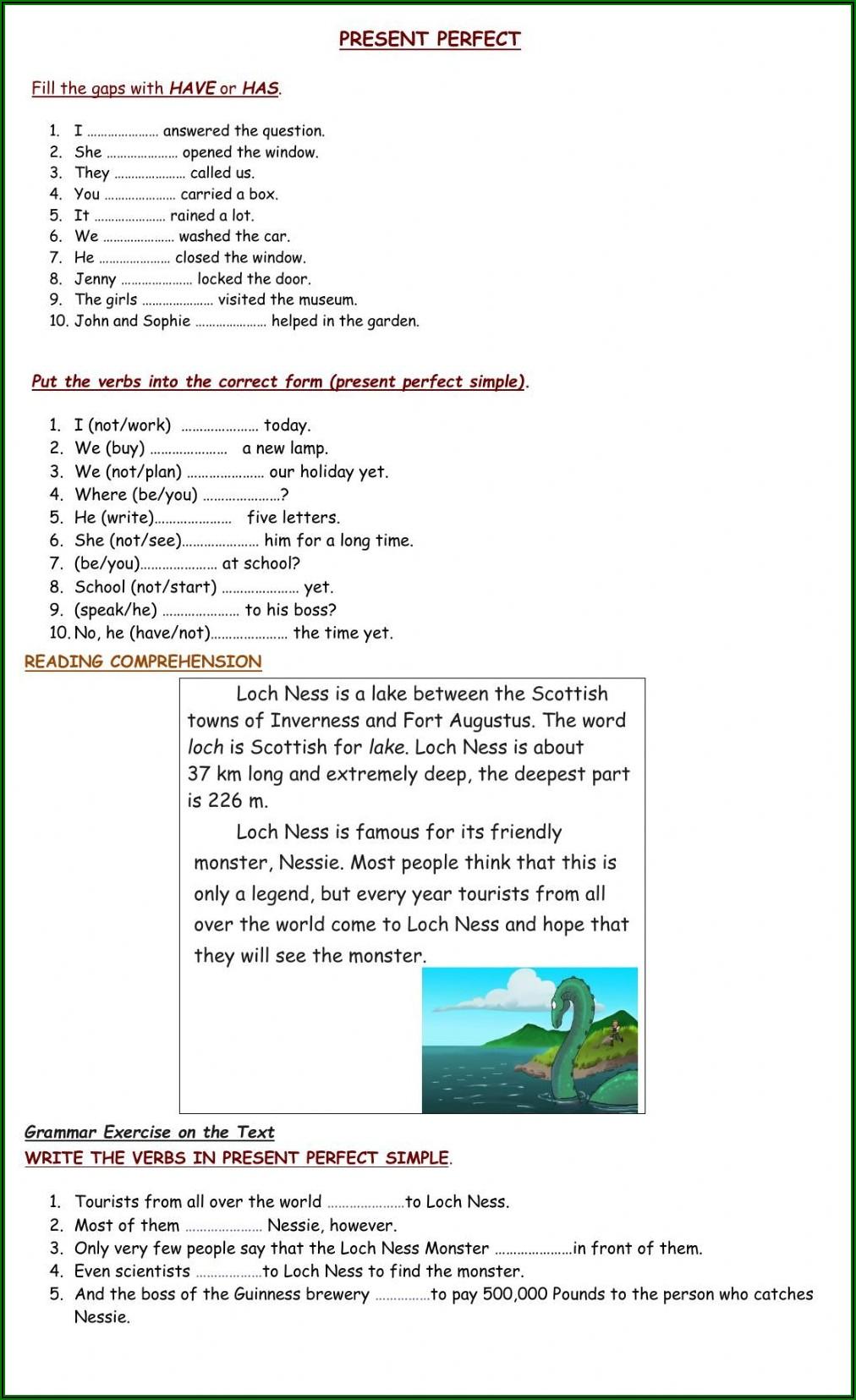 English Reading Exercises Pre Intermediate Pdf