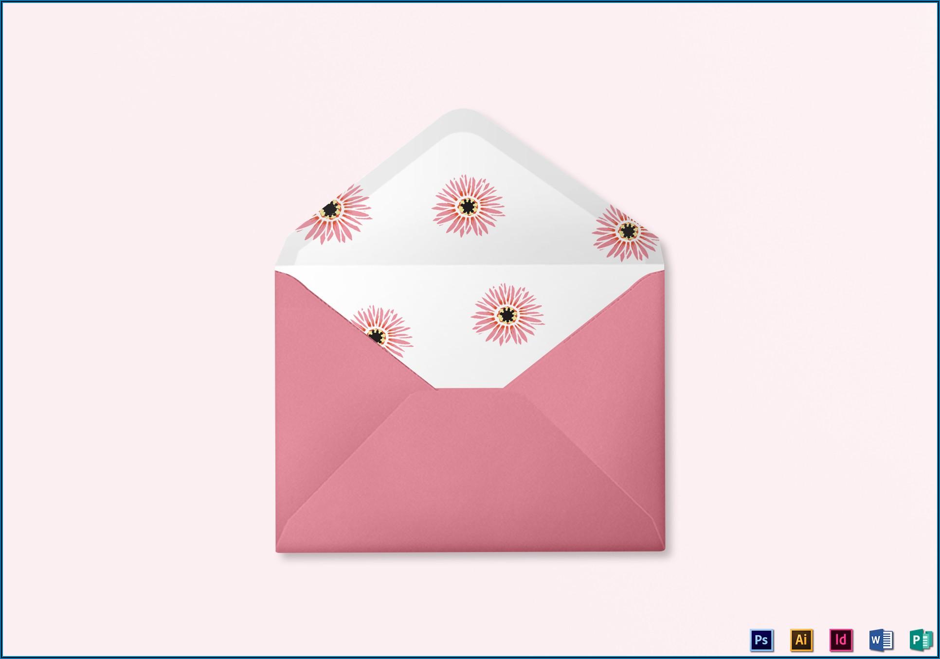 Envelope Design Template Illustrator