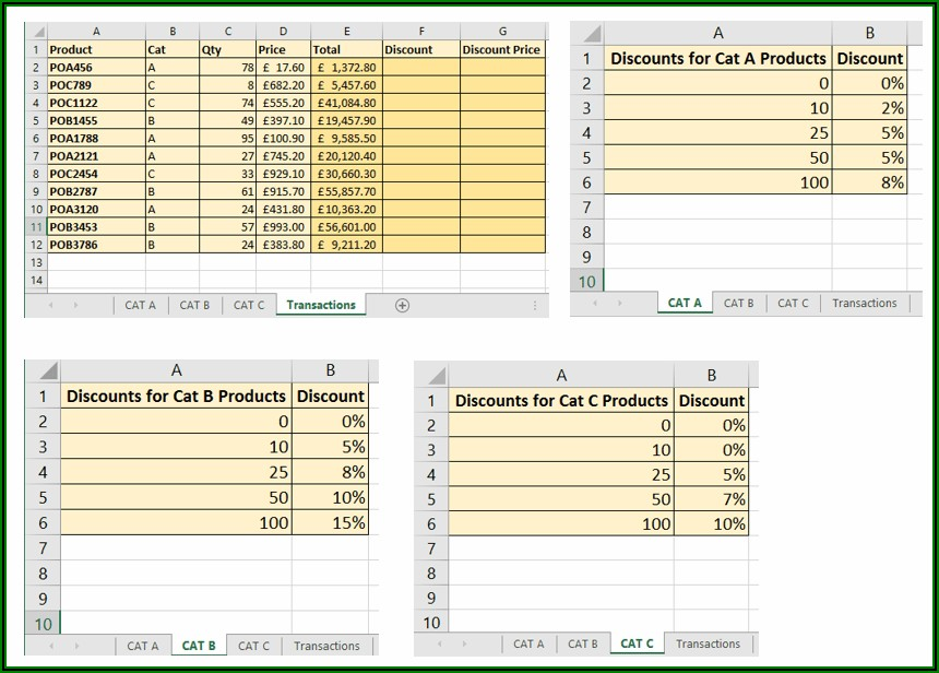 Excel Formula Reference Sheet Name From Cell